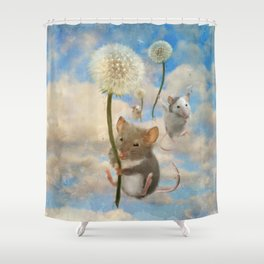 Dandemouselings Shower Curtain