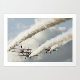 Wingwalkers Art Print