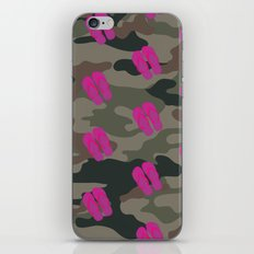 I saw Cady Heron wearing army pants and flip flops ... - quote from Mean Girls iPhone & iPod Skin