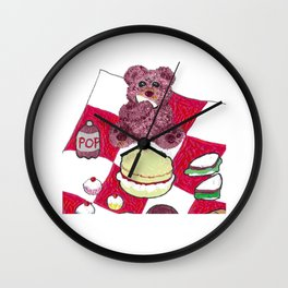 Teddy bear's picnic Wall Clock