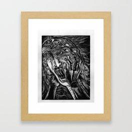 Aghhhh! Framed Art Print