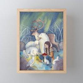 A Tale of the North Framed Mini Art Print