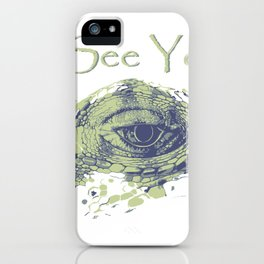 i see you - ayes iPhone Case