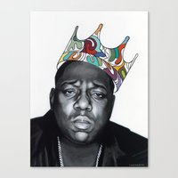 notorious Canvas Prints featuring Notorious by Jared Yamahata