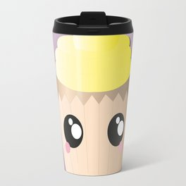 Yellow Cupcake Travel Mug