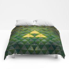 Link Geometry Comforters