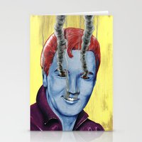 elvis Stationery Cards featuring Elvis by FAMOUS WHEN DEAD