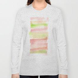171122 Self Expression 3| Abstract Watercolors Long Sleeve T-shirt