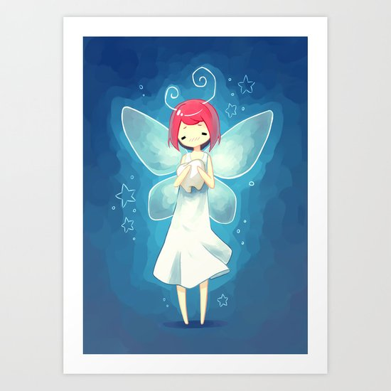 Tooth Fairy Art Print