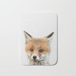 Fox print, Fox wall art, Nursery decor, Animal art, Baby animal prints Bath Mat