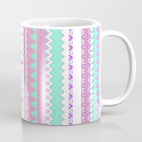 kris tate Mugs featuring ▲TWIN SHADOW ▲by Vasare Nar and Kris Tate  by Kris Tate