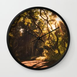 Sunshine Welcomes You Wall Clock