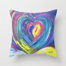 Heart by Sheila Fein Fantasy Pop Throw Pillow