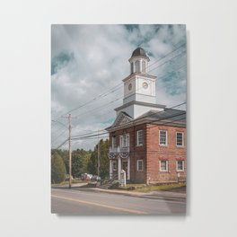 St Armand Supervisor's Office 01 Metal Print
