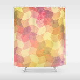 Frosty Candy - pattern Shower Curtain