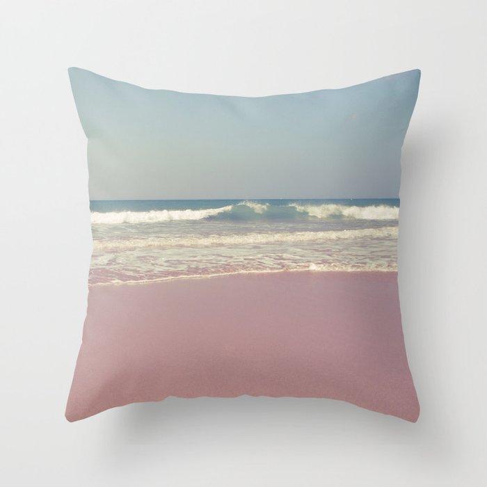 Sea waves 2 Throw Pillow