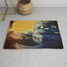 sun in the windows (pinhole camera) Rug