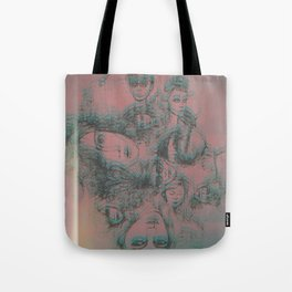 We are related Tote Bag