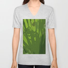 Five Shades  Of Green Unisex V-Neck