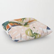 Monstera delight Floor Pillow