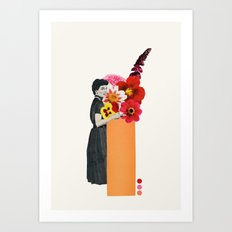 spring isn't spring anymore Art Print