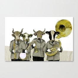 Herd Behavior Canvas Print