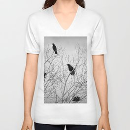 A Murder of Crows Unisex V-Neck
