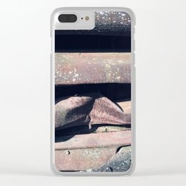 Up in My Grill Clear iPhone Case
