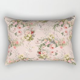 Pardon Me There's a Bunny in Your Tea Rectangular Pillow