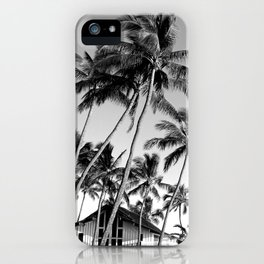 Palm Trees Poipu iPhone Case