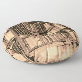 Bookstore Rom Floor Pillow