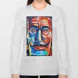 Salvador Dalí Colorful Art Painting Long Sleeve T-shirt