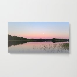 Dreamy summer scene Metal Print