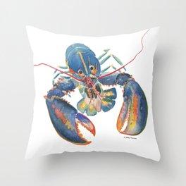 Sea Lobster Throw Pillow