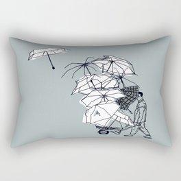 No couro! Rectangular Pillow