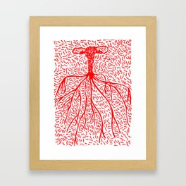 Nude Desire Framed Art Print