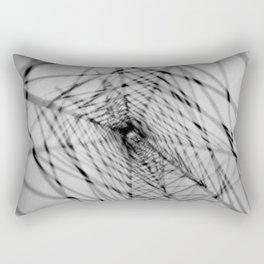 Power lines abstraction Rectangular Pillow