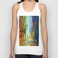 waterfall Tank Tops featuring Waterfall by sophtunes