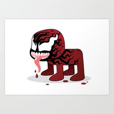 CARNAGE ROBOTIC Art Print