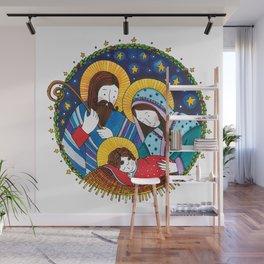 Nativity scene Wall Mural