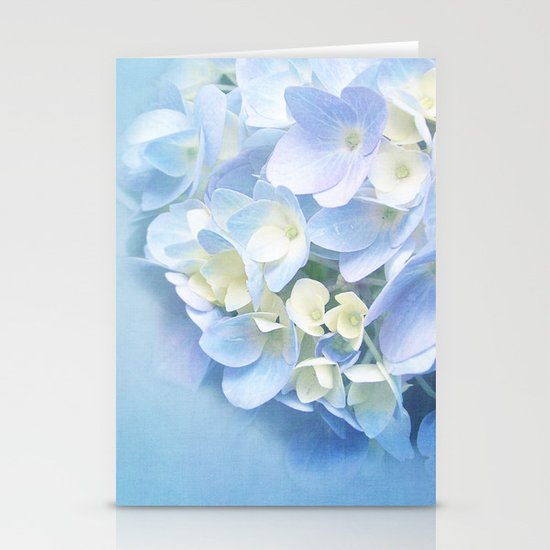 BABY BLUE FLOWER DREAM Stationery Cards