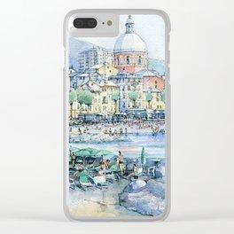 Pegli d'estate Clear iPhone Case
