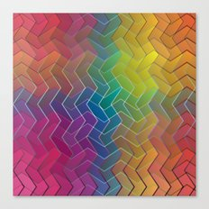 Zigzag & Zigzag 6 Canvas Print