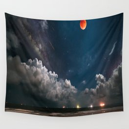 Afternoon sky Wall Tapestry