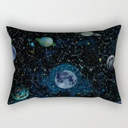 Outer Space Rectangular Pillow