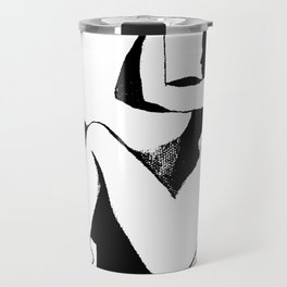 Dancing With Shadows #2 B/W Travel Mug