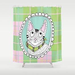 Wee Jock cameo Shower Curtain