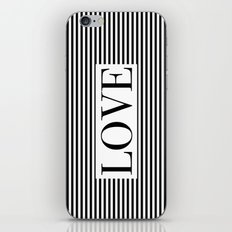 Monochromatic Love iPhone & iPod Skin