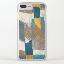 Tierra, Cal y Agua Clear iPhone Case