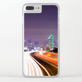 The Road to Dallas Clear iPhone Case